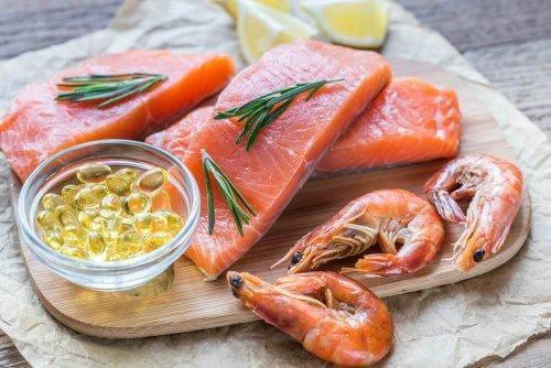 Vette vis zoals zalm
