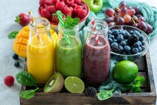 Vruchtensap in grote hoeveelheden