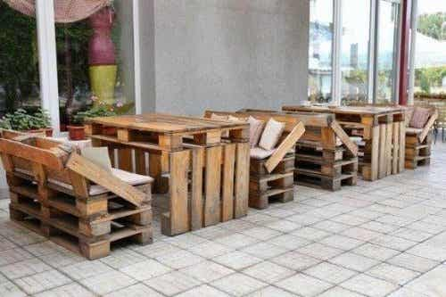 Acht ingenieuze ideeën voor gerecycled meubilair