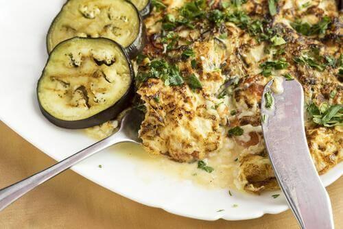 aubergine omelet recept voor gevulde aubergines