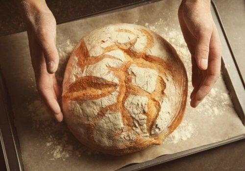 Leer glutenvrij brood te maken zonder te kneden
