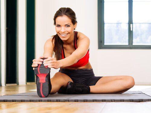 strekoefeningen voor je onderlichaam