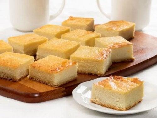 Hoe je een cottage cheesecake zonder oven maakt