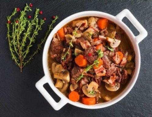 Geniet van deze heerlijke stoofschotel met rundvlees