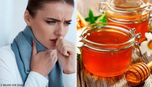 Honing tegen keelpijn