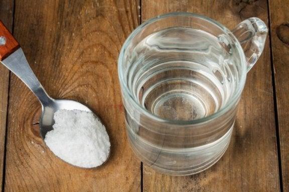 Zuiveringszout en waterstofperoxide