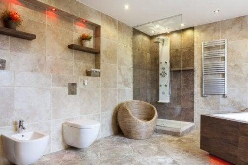 Negen ideeën voor de inrichting van de badkamer