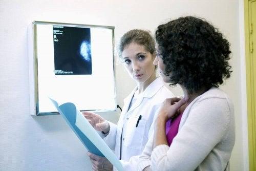 Dokter en patiënt