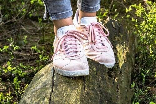 Draag de juiste schoenen