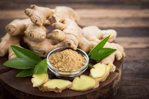 6 remedies met gember voor de gezondheid van je huid