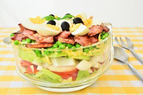 Salade met eieren