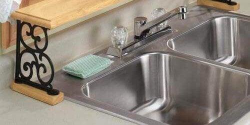 thuis je wasbak desinfecteren
