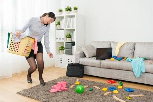 waarom doet mijn partner niets in het huishouden