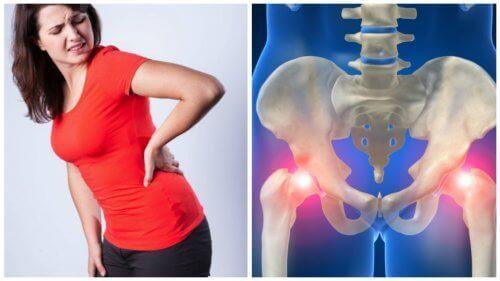 Zes handige tips om pijn in de heupen te voorkomen