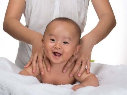 Wat zijn de beste massages voor een baby?