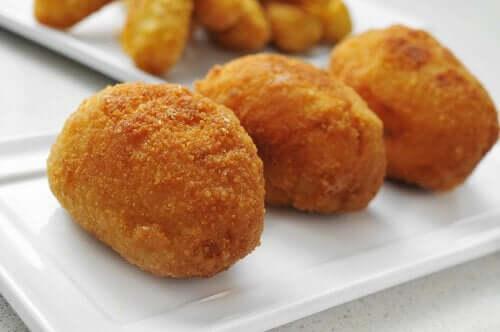 Spaanse hamkroketten met kip