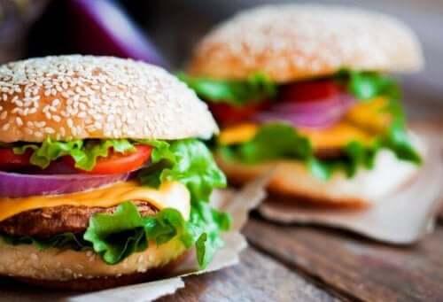 Heerlijke kipburgers met veel eiwitten