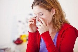 Munt kan helpen tegen een sinusinfectie