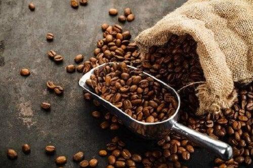 Een luchtverfrisser met koffie