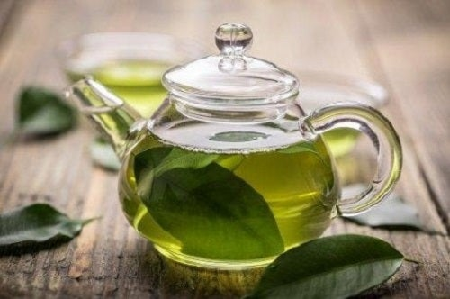 Groene thee met manukahoning