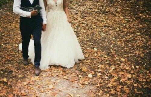 Voor een huwelijk in de herfst of in de winter