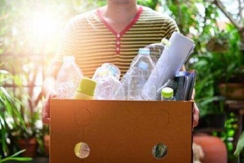 Wat betekent het om minder afval te maken
