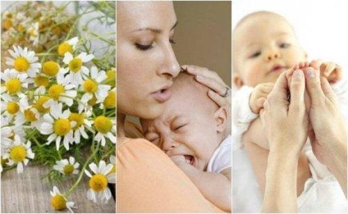 Vijf natuurlijke remedies voor koliek bij baby's