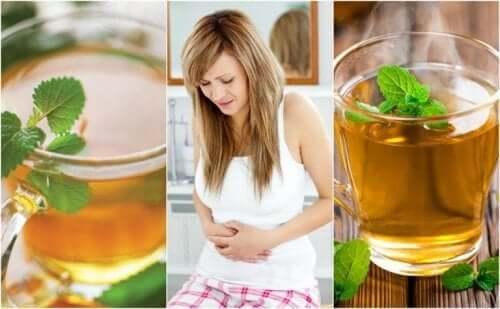 Muntthee voor spijsverteringsproblemen