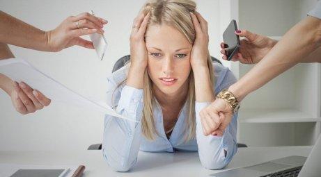 Stress veroorzaakt problemen