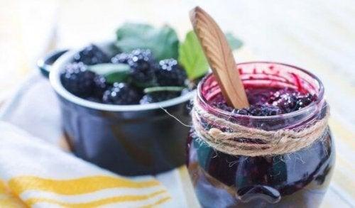 3 recepten voor zelfgemaakte suikervrije jam