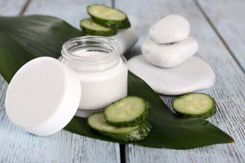 Komkommer helpt goed bij huidaandoeningen