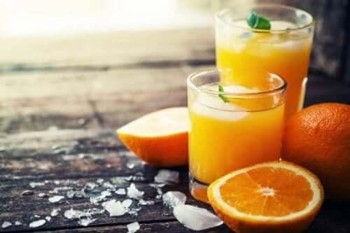 Sinaasappels zijn laxerende voedingsmiddelen