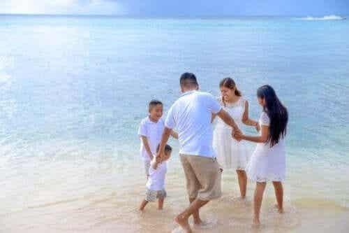 Met je kinderen naar het strand gaan