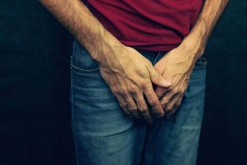 Man met retrograde ejaculatie