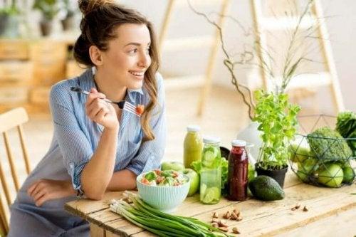 Verschillende soorten vegetarische diëten