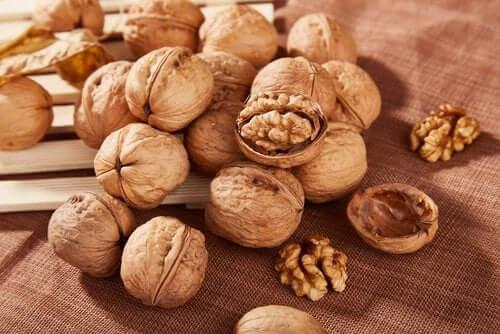 gezonde notensoorten zoals walnoten