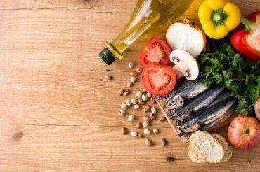 Basisaspecten van het mediterraan dieet