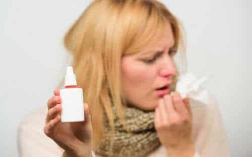 Medicatie via de neus toedienen