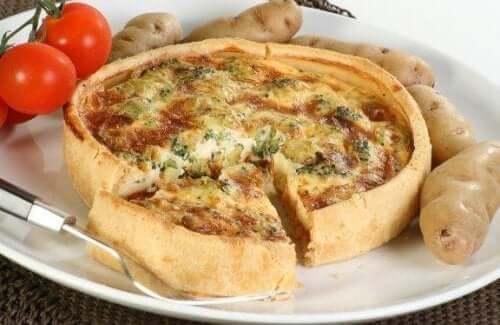 Maak deze heerlijke quiche met groenten en kaas