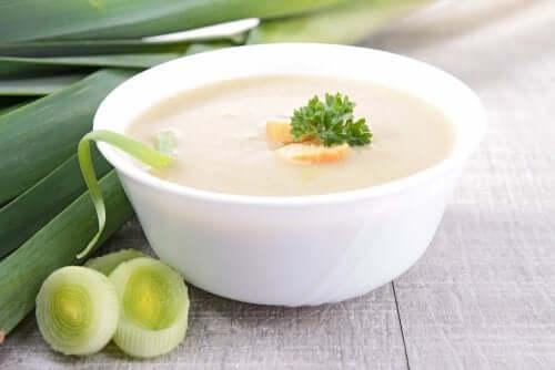 Twee recepten voor gebonden groentesoep