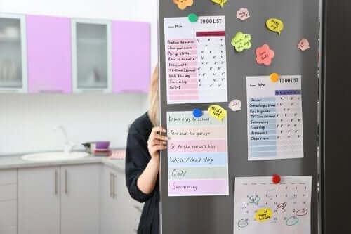 Hoe maak je een organisatiebord voor je keuken?