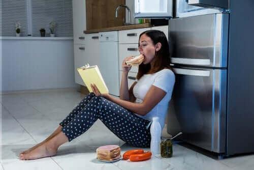 Kenmerken van het nachtelijk eetsyndroom