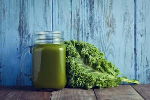 Een vitamineshot van boerenkool en spinazie