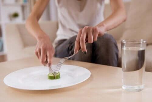 Verandering in eetgewoonte kunnen symptomen zijn van een geestelijke stoornis