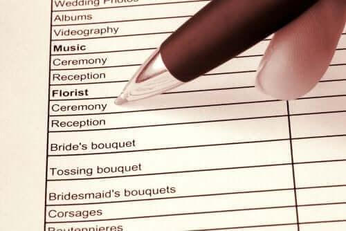 Tips om snel een bruiloft te organiseren