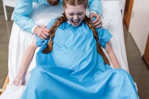 Graden van inscheuren bij de bevalling