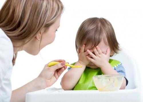 Kind wil niet eten
