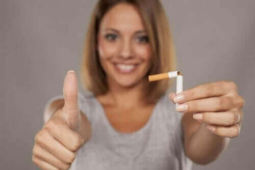 Nicotinevervangende therapie om te stoppen met roken