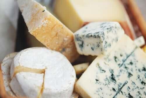 Kaas met verschillende vormen