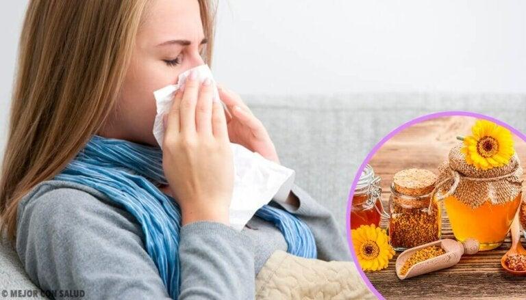 Propolis voor de eerste symptomen van verkoudheid